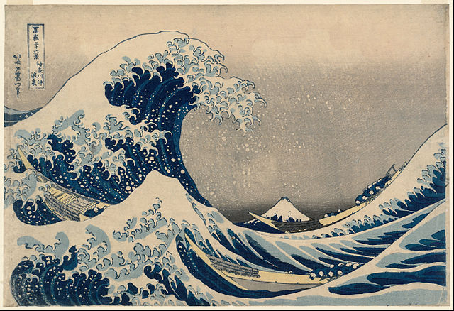 """""""The Great Wave"""" by Hokusai"""