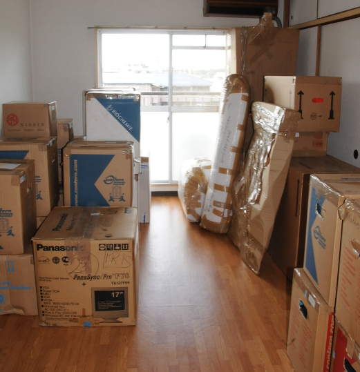 my moving boxes