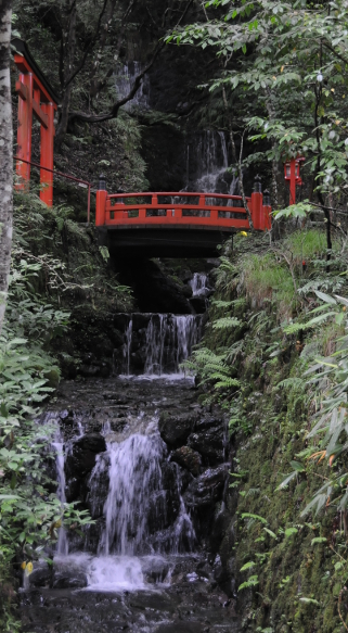 Back entrance of Kifune shrine