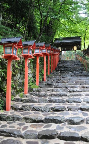 Front entrance of Kifune shrine