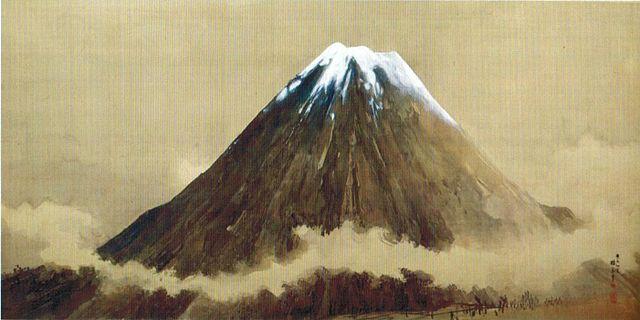 Mount Fuji by Takeuchi Seiho
