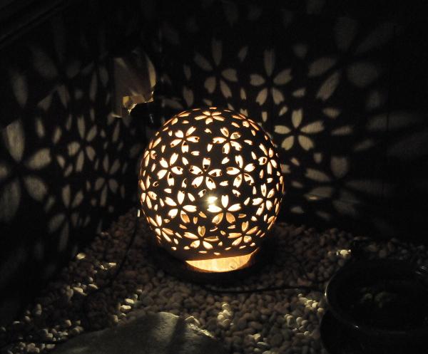 "Ceramic lantern ""cherry blossom"""