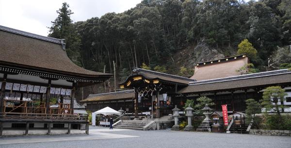 Haiden Prayer Hall at Matsunoo Taisha