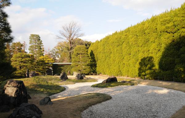 Jonan Rikyu Garden in Jonan-gu Shrine
