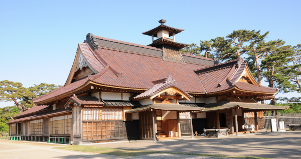 Old Magistrate Building in the Goryokaku in Hakodate